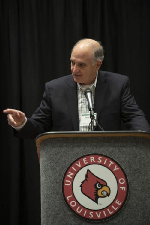 Louisville Sustainability Summit Keynote Speaker, Dr. David Orr of Oberlin College gave an exceptional speech about 'The (Missing) Politics in Sustainability and Education.'